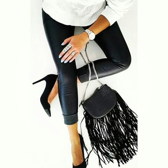 bag black black bag ida greco