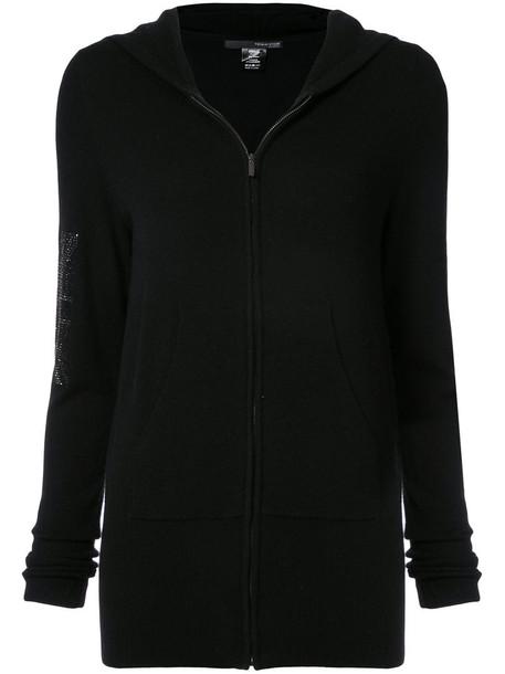 Thomas Wylde hoodie women union jack black wool sweater