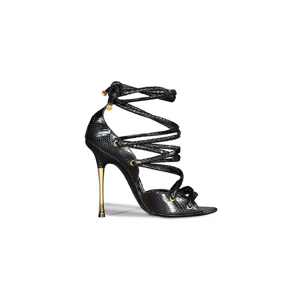 Tom Ford Spring 2012 Lace up Sandals - Polyvore