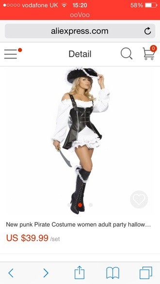 dress pirate halloween costume