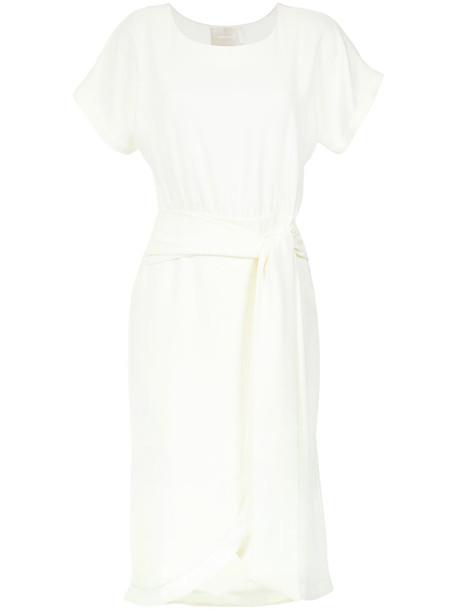 dress midi dress women midi white