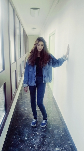 jacket denim jacket denim shoes