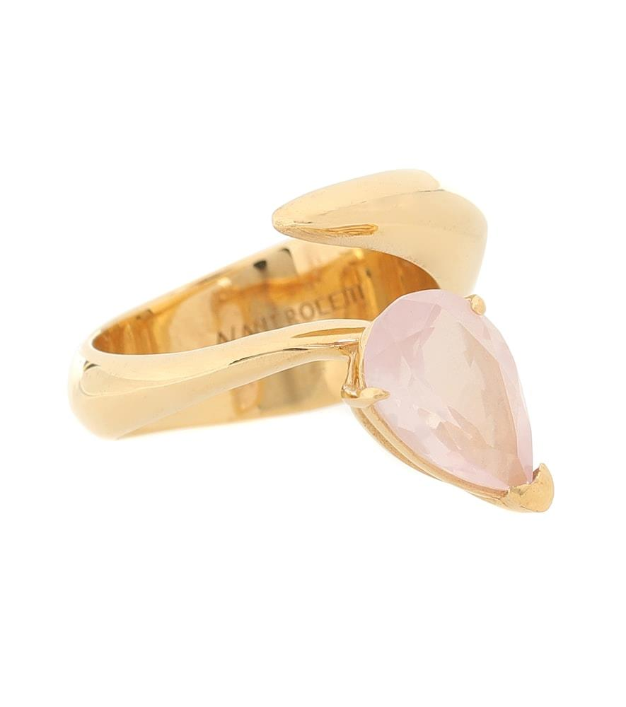 Exclusive to Mytheresa – Alien gold vermeil ring