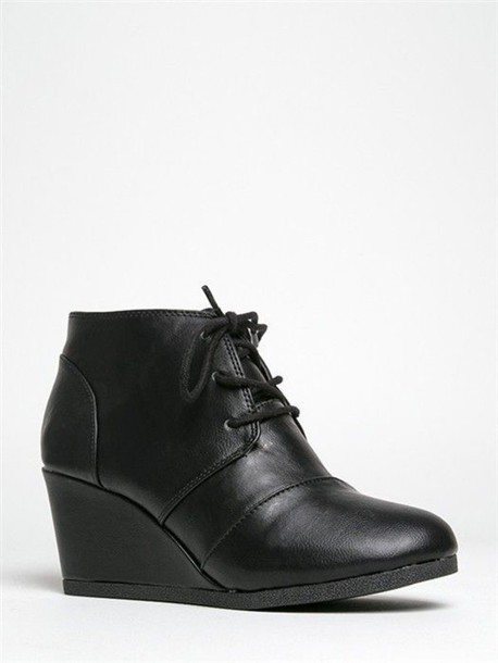 7285779d0b29 shoes black booties oxfords lace up boots booties black