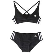 underwear,adidas,sportswear,bra,lingerie set,black,white,black and white,two-piece,bra and underwear,activewear,bralette,swimwear,blak and white stripes,cute,adida two piece,adidas originals,stripes