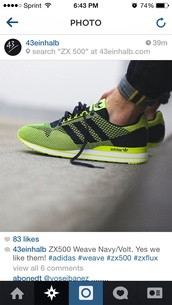 shoes,adidas,neon,yellow,black,details,cute,dope