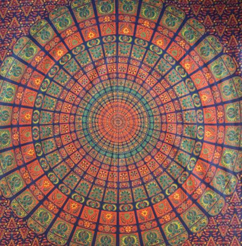 Boho Bohemian Wall Hanging Mandala Tapestry