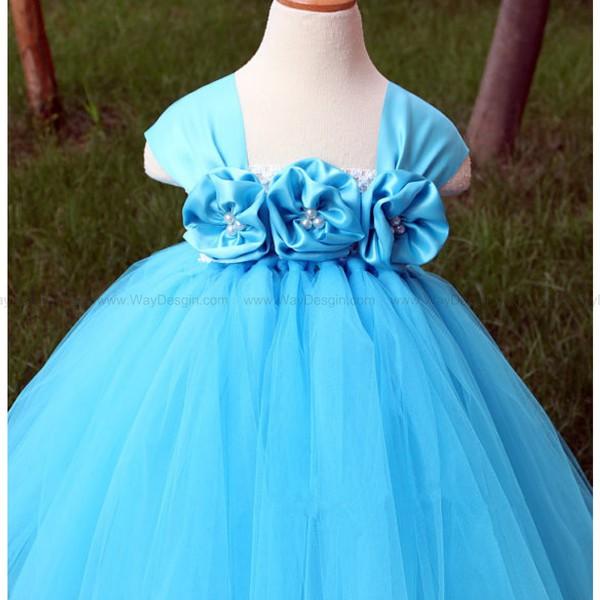 flower girl dress toddler birthday dress