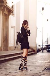 bekleidet,blogger,dress,shoes,sunglasses