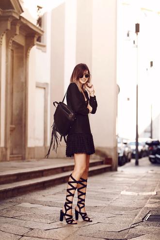 bekleidet blogger dress shoes sunglasses