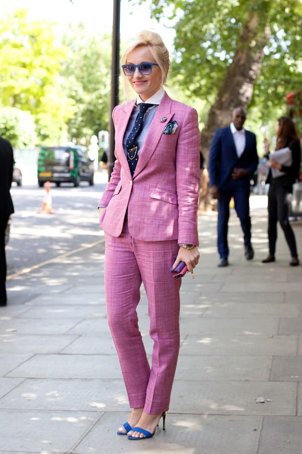 Pants Power Suit Womens Suit Two Piece Pantsuits