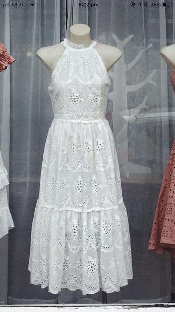 dress lace halter