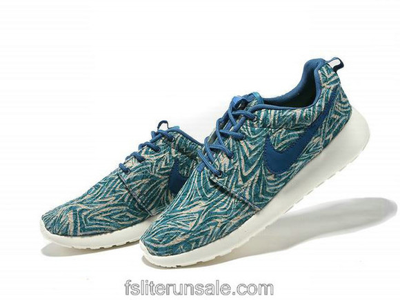 shoes mens shoes blue nike roshe run london leopard nikes