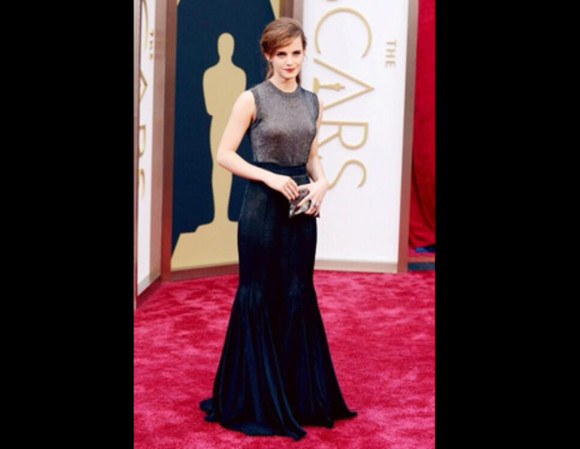 dress emma watson transparent oscars 2014