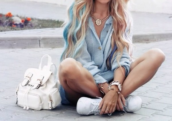 shirt light blue acid wash button up long sleeves