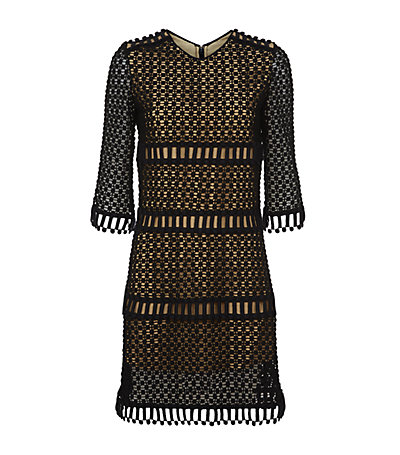 Chloé popcorn embroidered dress