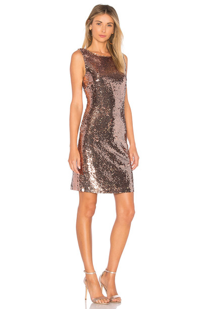 BB Dakota dress metallic copper