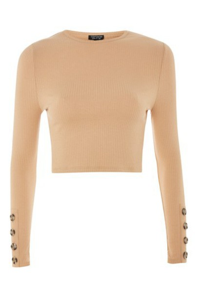 Topshop top tan