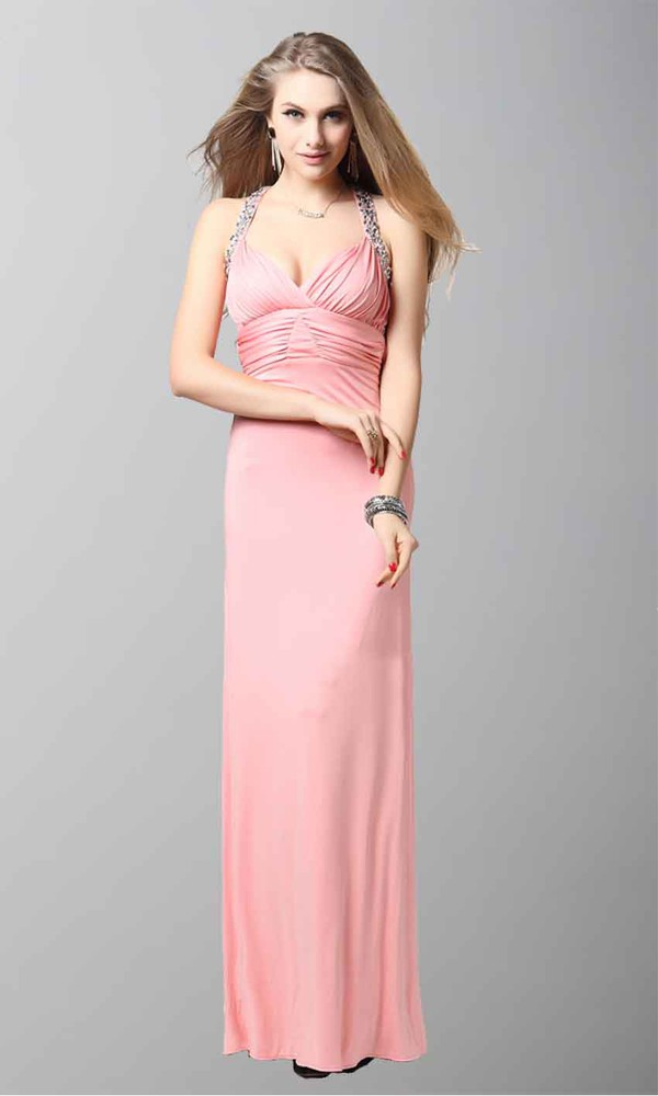 halter dress empire waist dress sheath column empire waist sateen long prom dress long formal dress long evening dress sexy dress