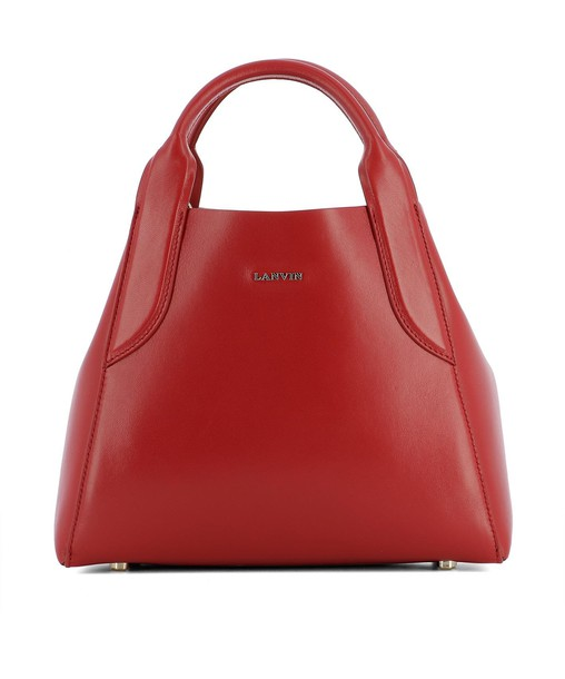 lanvin bag leather red