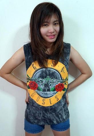 Guns n roses tank top shirt singlet vest stone wash t