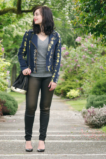 coco and vera jacket bag t-shirt jeans shoes jewels sézane