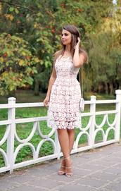 a piece of anna,blogger,dress,bag,shoes
