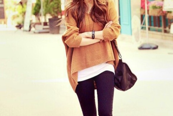 sweater pullover winter sweater fashion marron, jumper marroon jewels watch winter outfits outfit lazy day