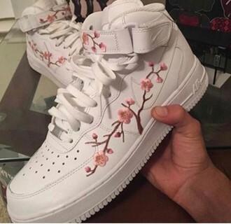 shoes nike air force cherry blossom nike