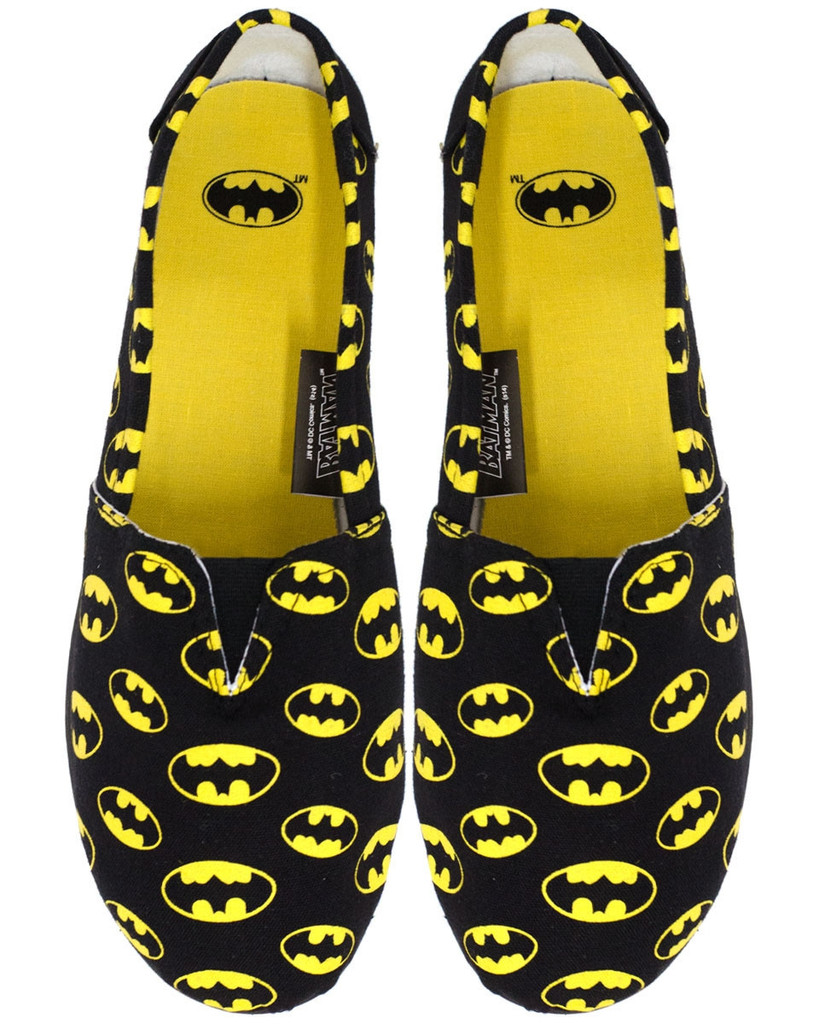 Batman slip ons at shop jeen