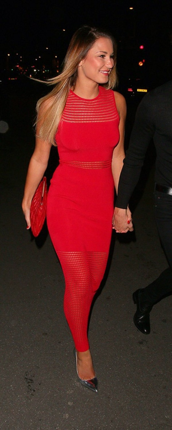 Sam Faiers Red Dress Style Sam Faiers Red Dress