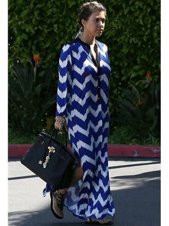 dress blanc black blue long dress blue dress white dress maxi dress kourtney kardashian