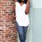 Oversized blouse   skinny jeans - c's evolution of style