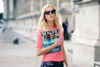 meri wild blogger jeans jewels sunglasses bag make-up