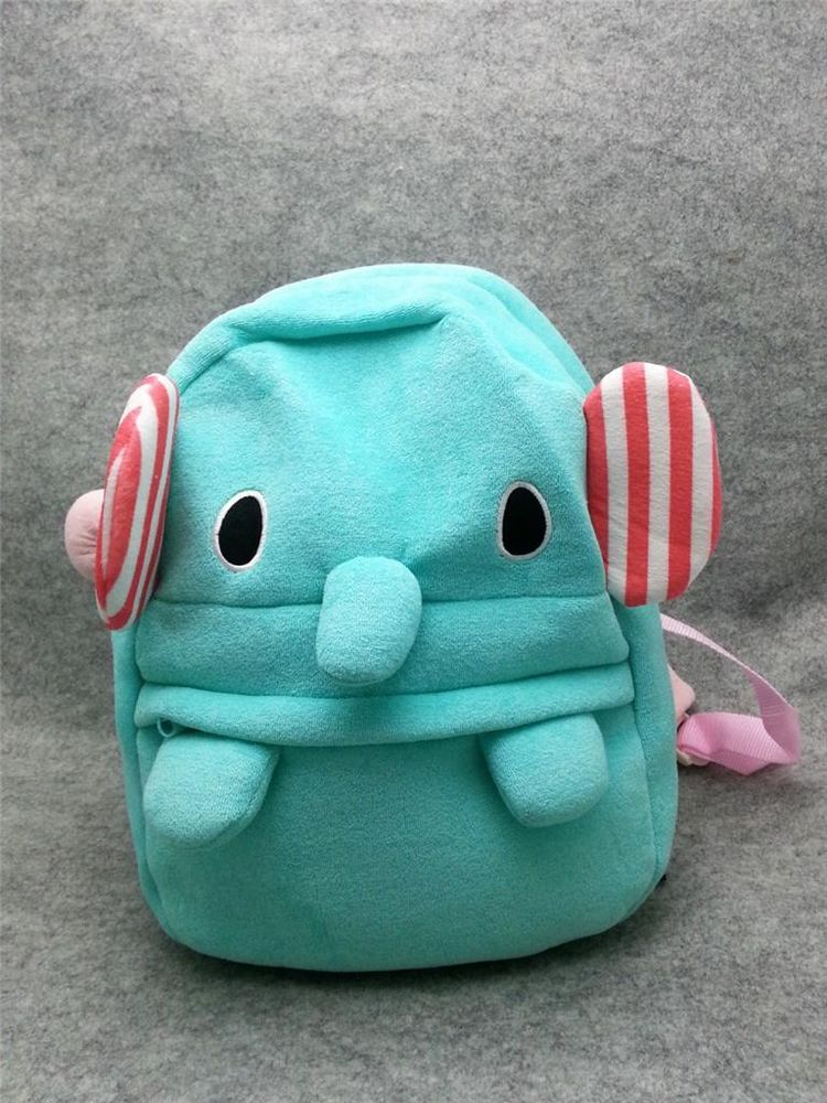 Cute Kawaii Elephant Anime Animal Furry Plush Handbag Backpack Bag School Bag | eBay
