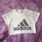 Sadidas crop top or fitted shirt
