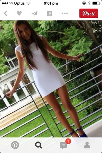 dress white short short party dresses