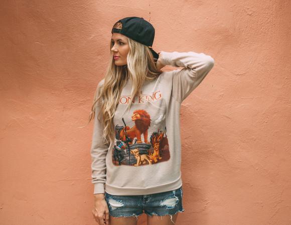 jeans disney barefoot blonde blogger the lion king