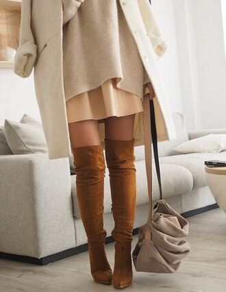 boots heels overknee overknee boots bag dress coat shoes