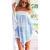 Women's Irregular Hem Off-the-shoulder Batwing Sleeve Dress - $15.76