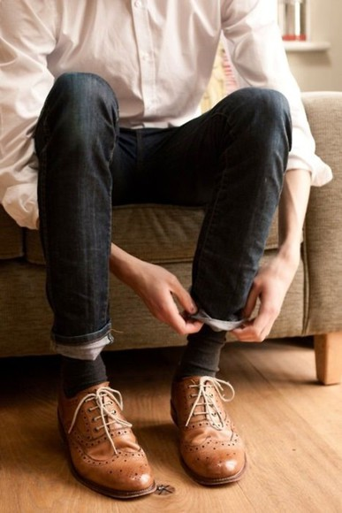 shoes brogues wing tips oxfords
