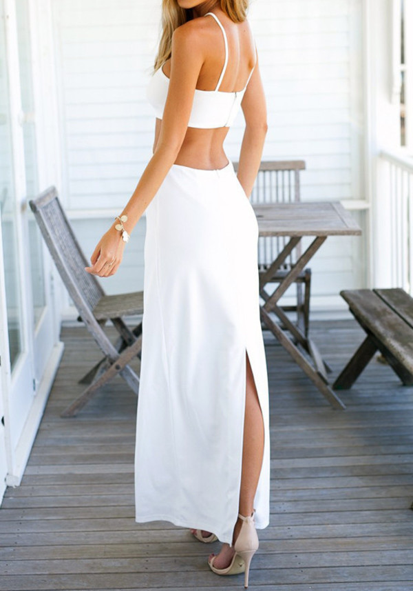 Indy Wrap Maxi Skirt in White Michael Lauren Countdown Package For Sale Exclusive Cheap Price Clearance Ebay For Sale 2018 mu2qqcB