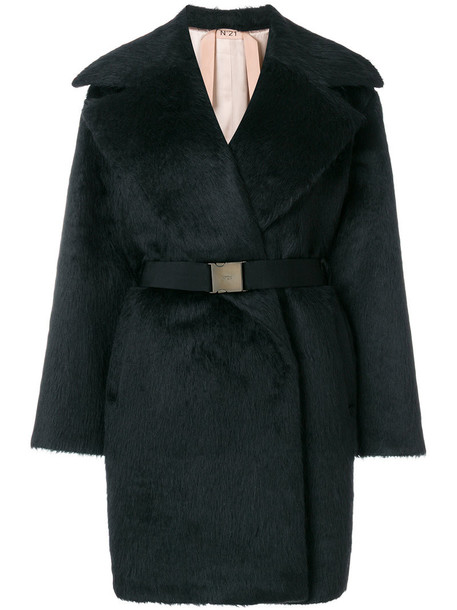No21 coat women black wool