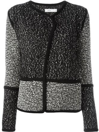 jacket knit black