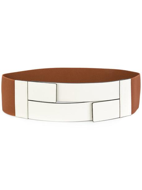 belt white