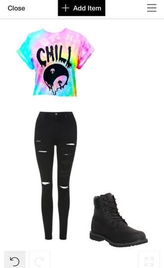pants grunge hippie hipster alternative