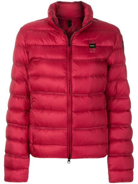 Blauer jacket women red