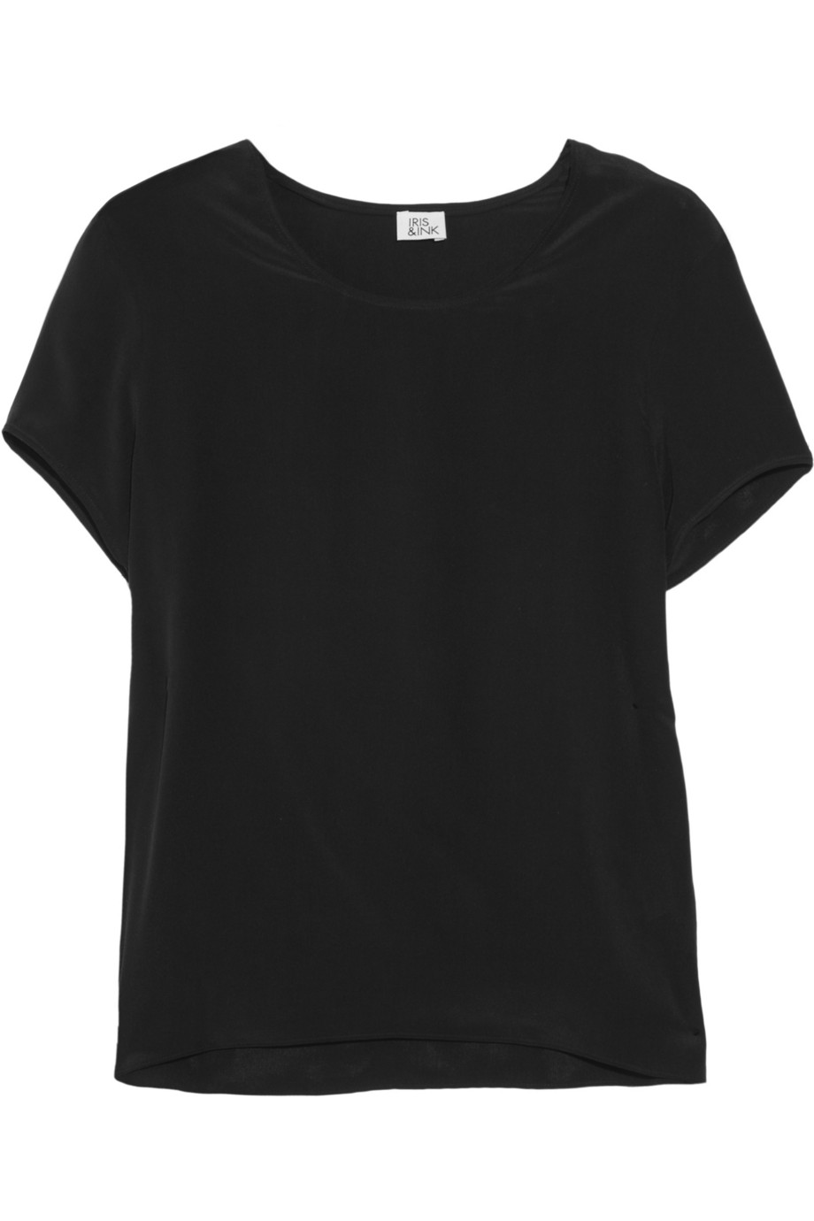 Iris Amp Ink Silk Crepe De Chine T Shirt Exclusively For