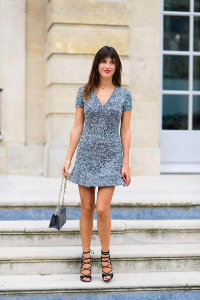 Dress Fashion Week Street Style Fashion Week 2016 Fashion Week Paris Fashion Week 2016 Mini