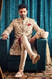 coat,sherwanis,groom wear,grooms,custom made wedding dresses,wedding dress,indian wedding suits